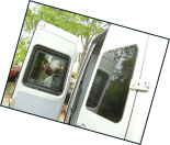 Sprinter 02 06 rear door windows inside view