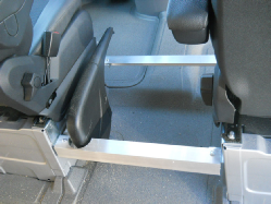 Sprenter center console mounting brackets