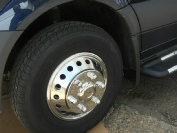 Sprinter dually wheel liners, front