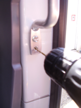 Sprinter Side door grabhandle in aluminum