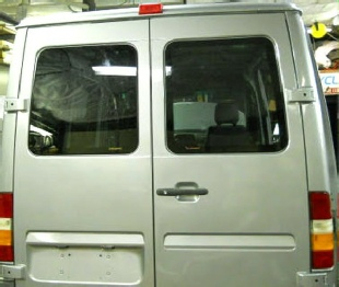 Sprinter rear door windows  02-06