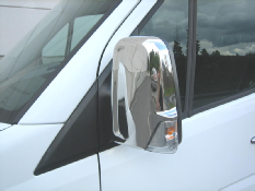 Sprinter chrome mirror covers, pair