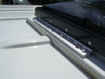 Sprinter roof vent over roof ribs