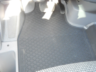 Sprinter rubber front floor mat